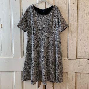 Lands' End scoop neck dress Size 1X